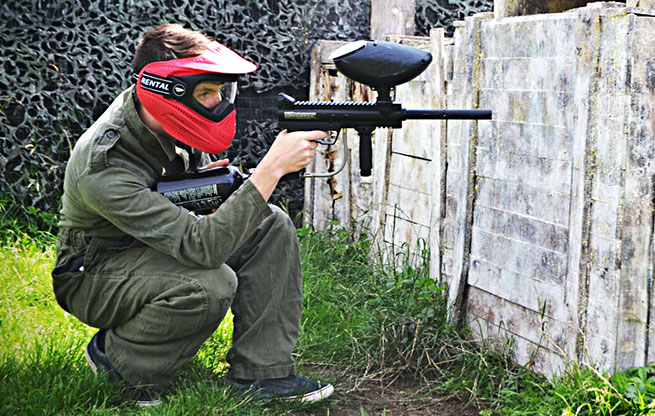 Onbeperkt paintball