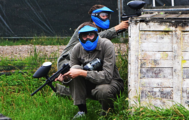 Paintball uitrusting
