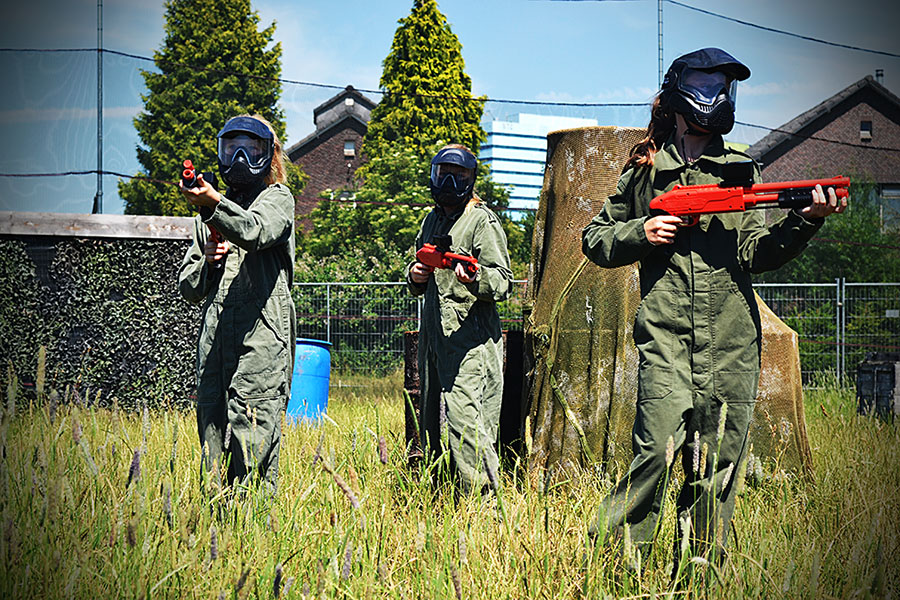Meiden-paintball
